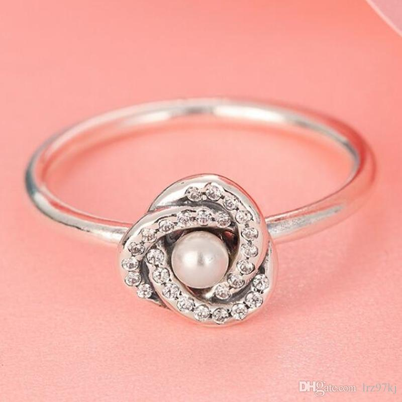 d700315a5 2019 High Quality 100% 925 Sterling Silver Luminous Love Knot With Clear CZ  Ring European Pandora Style Jewelry Charm From Lrz97kj, $16.49 | DHgate.Com