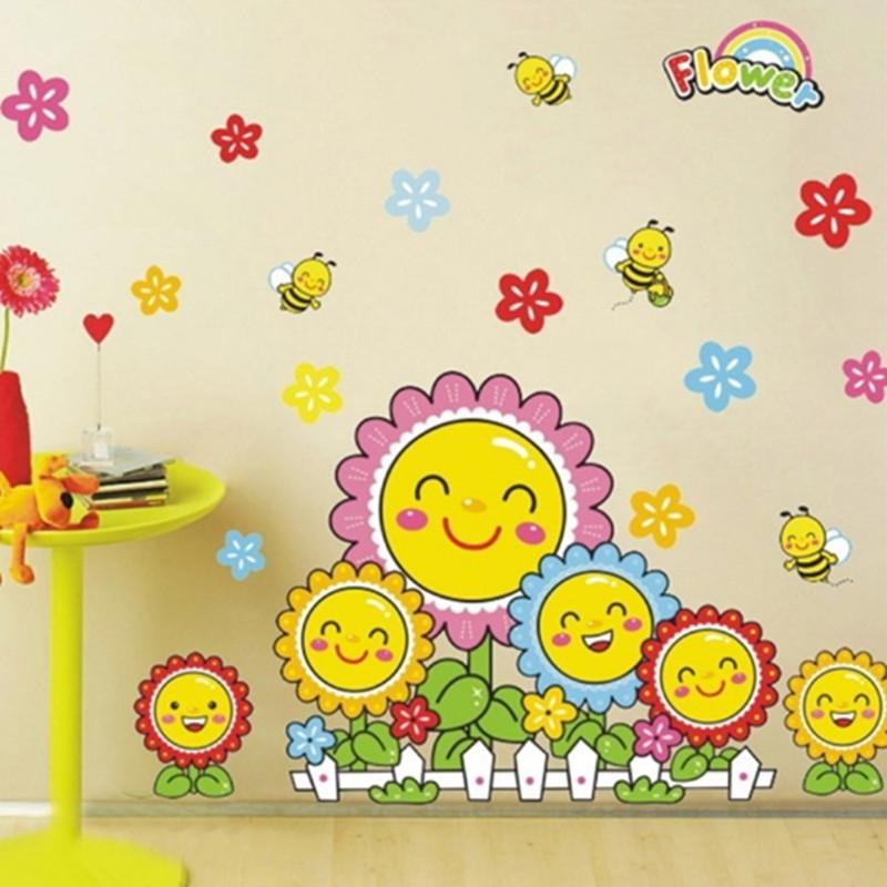 Kindergarten Decoration Wall Stickers Children Decorative Decals ...