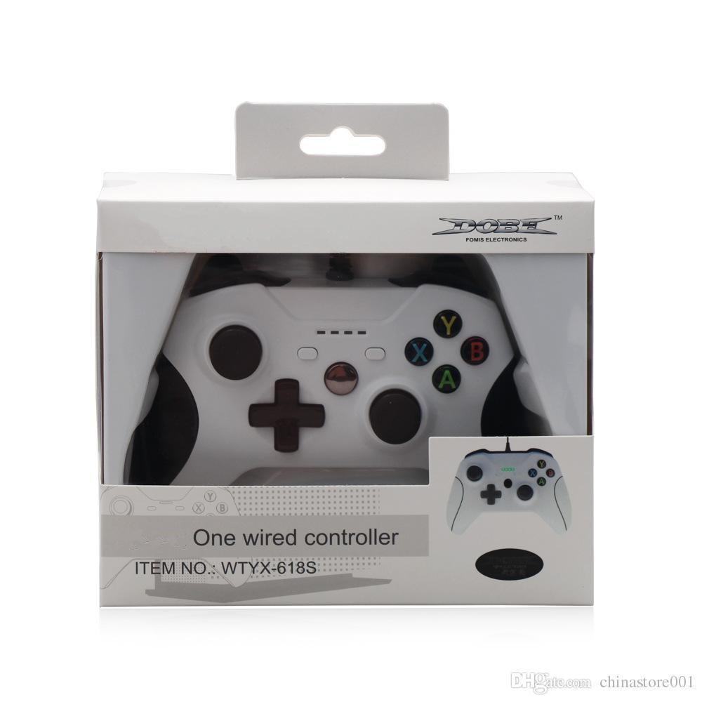 Дешевые 20 шт. игровой контроллер геймпад USB проводной игры управления ПК джойстик джойстик аксессуар для Xbox One Slim S игровой контроллер портативный компьютер