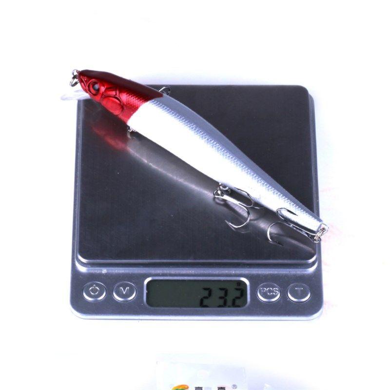 14 cm 23.7 g Lifrlike Fishing Lure or Minnow Hard Bait with 3 Fishing Hooks 3D Eyes Fishing Tackle Bait