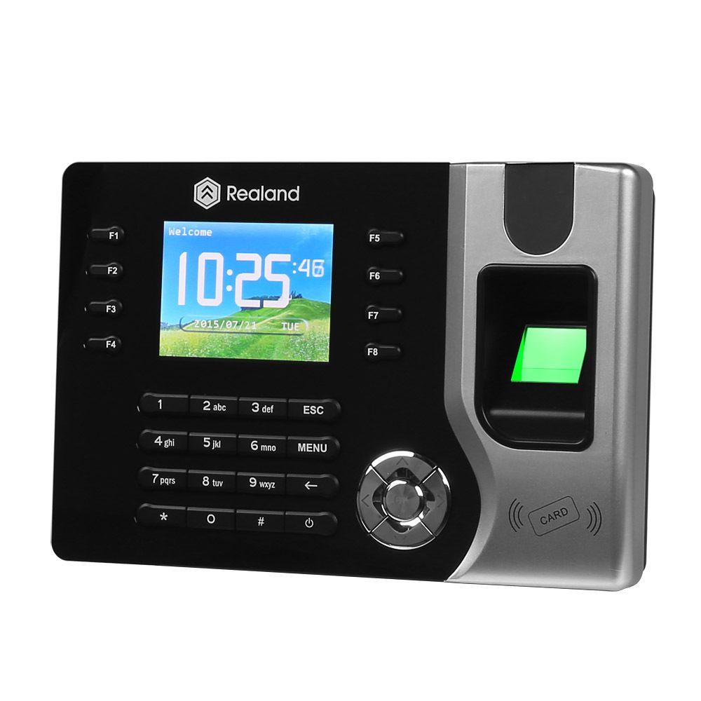 Biometric Fingerprint Time Clock Recorder Attendance Digital Electronic  Reader Machine AC071 USB Office Time Recorder Support ID