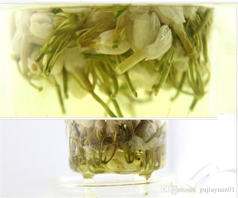 Tercihi 50g Çin Organik Yeşil Çay Erken Bahar Blooming Yasemin Çiçek Ham Çay Sağlık Yeni Bahar Çay Yeşil Gıda