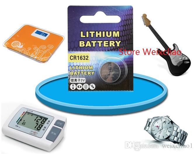 1 CR1632 3V lithium li ion Button Cell Battery CR 1632 3 Volt li-ion coin batteries
