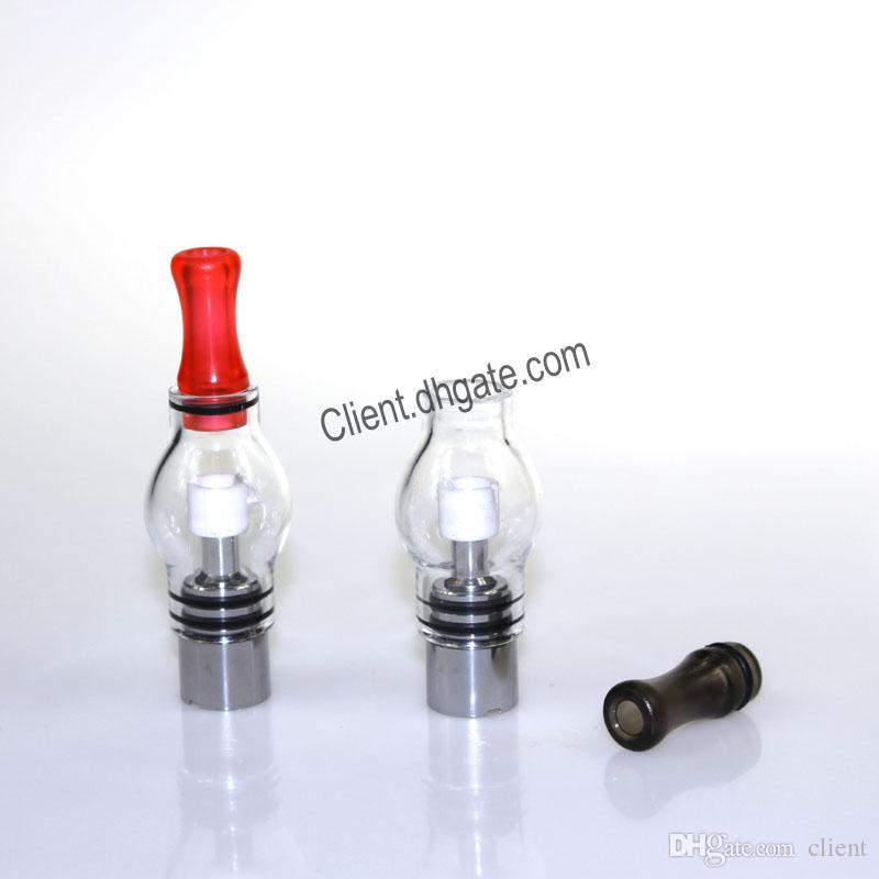 Pirex Glass Globe M6 Atomizador 3.0ml Tanque de vaporizador de erva seca de cera para ego T EVOD VISÃO SPINNER 2 3
