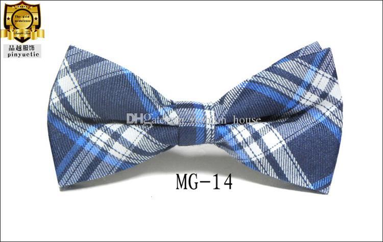 Enfants Bébé Filles Garçons 16 Couleur Pur Coton Formal Tuxedo Noeud papillon Bow Tie Enfants Imprimé Cravate De Mariage Livraison Gratuite L001