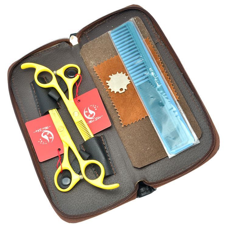 5.5Inch Meisha Barber Salon Scissors Professional Hairdressing Scissors Kits JP440C Hair Cutting & Thinning Scissors/Shears,HA0210