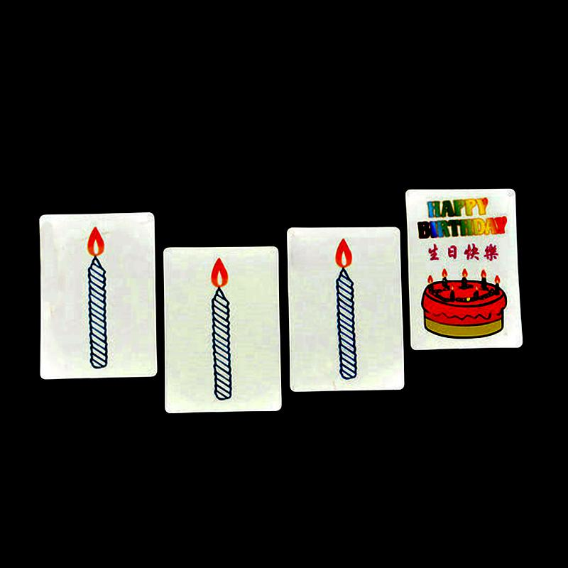 Happy Birthday Card Group Prediction Magic Trick Magic Cards Easy To