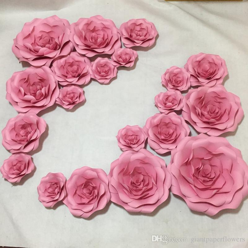 2019 Giant Paper Flowers For Girls Party Wedding Decor Or Photo