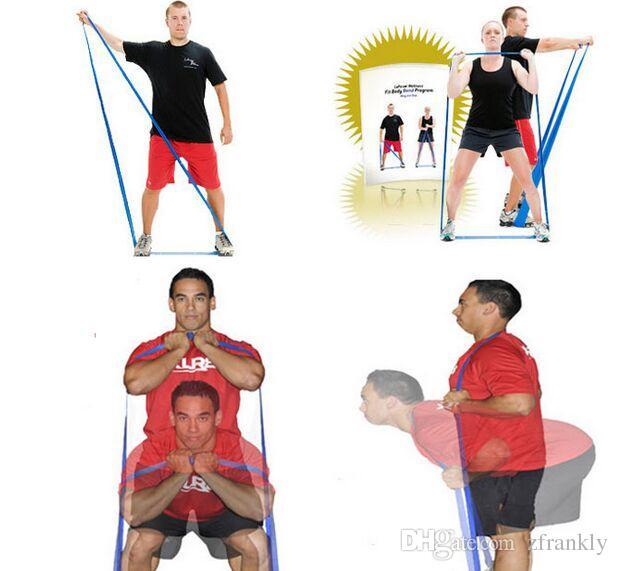 Anillo de tensión de color Bandas de ejercicios de yoga bucles de resistencia Anillo de fitness Extensión de látex banda de bucle de potencia nueva