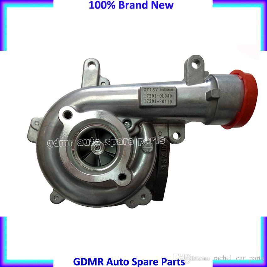 CT16V 17201-30160 17201-30100 17201-30101 17201-30110 17201-0L040 Turbina turbocompressore 1KD-FTV Toyota Hilux Landcruiser D4D VIGO 3000