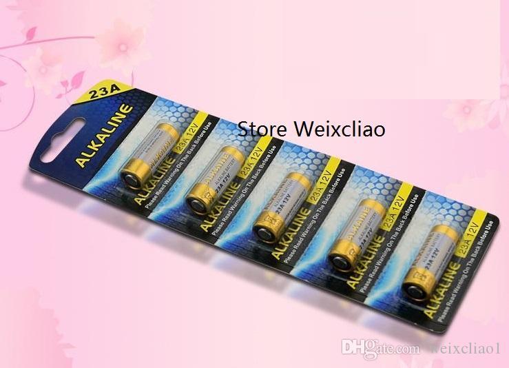 20 قطع 1 وحدة 23a 12 فولت 23A12V 12V23A L1028 بطارية قلوية جافة 12 فولت بطاريات بطاقة شحن مجاني