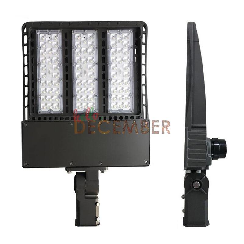 Commercial Led Shoebox Pole Light 100w 150w 200w 300w Outdoor Waterproof Street Lights 450w 600w 900w Hid Hps Replacement Flood