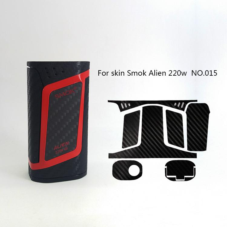 Alien 220W Skin Wraps Sticker Cases Cover for Alien 220 Watt TC Box Mod Vape Protective Film Stickers With Cool 18 Pattern