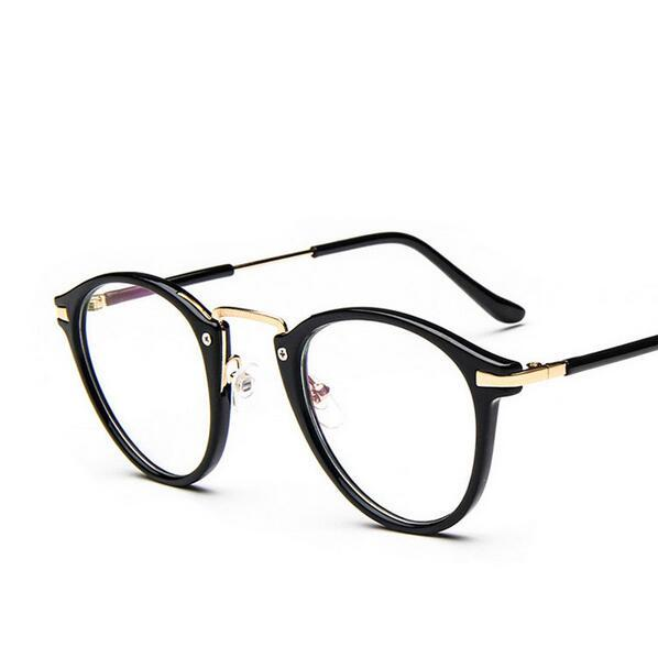 6b6ae77837 Compre Al Por Mayor 2017 Moda Gran Marco Gafas Graduadas Mujeres Anteojos  Coreanos Super Light Metal Glasses Hipster Accesorios A $27.09 Del Ekkk    DHgate.