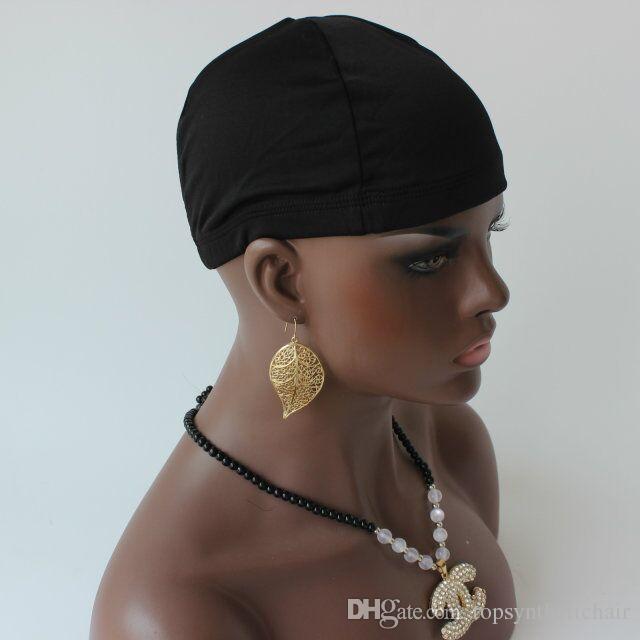 قبعة شعر مستعار رخيصة وجميلة جعل القبعات قبعة قبة المستعار قبة كاب على الشعر المستعار قبعات ستريك Hairnets لمة