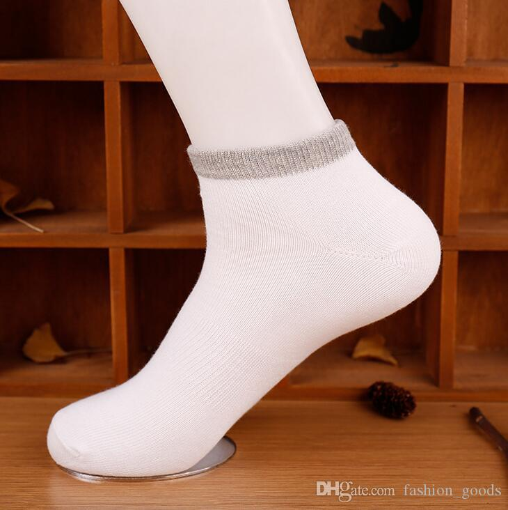 Высокое качество весна и лето мужская чистый цвет талии лодка носки пот дезодорант Спорт Повседневная дикие носки NW007