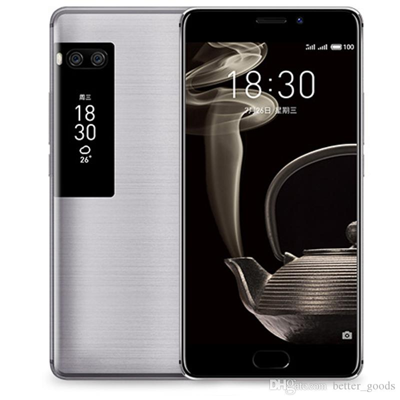 Teléfono móvil original Meizu Pro 7 Plus 4G LTE 6GB RAM 64GB / 128GB ROM MTK Helio X30 Deca Core Android 5.7