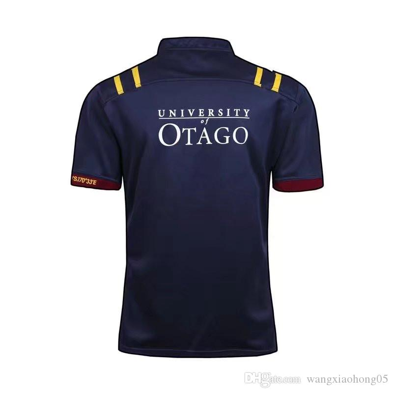 S-3XL 2017 Maillot New Zealand Super Highlanders Hurricanes Jersey 17 18 League Adultos Hombres Rugby Queensland Maroons Rugby Camisetas de fútbol