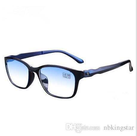 ce7ab6fc15d New Anti-Blu-ray Reading Glasses TR90 Ultralight Computer TV Anti ...