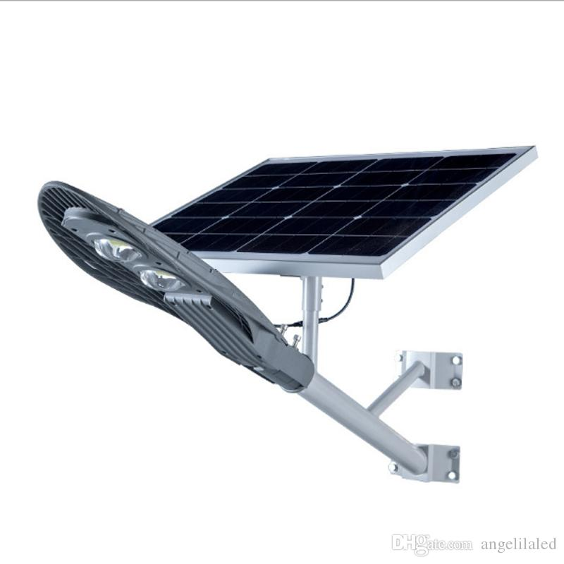 Solar Panel With Led Light Part - 15: 2017 60w Solar Panel 40watts Led Light Source Solar Street Road Lights  Waterproof Ip65 Solar Garden Lamp From Angelilaled, $419.1 | Dhgate.Com