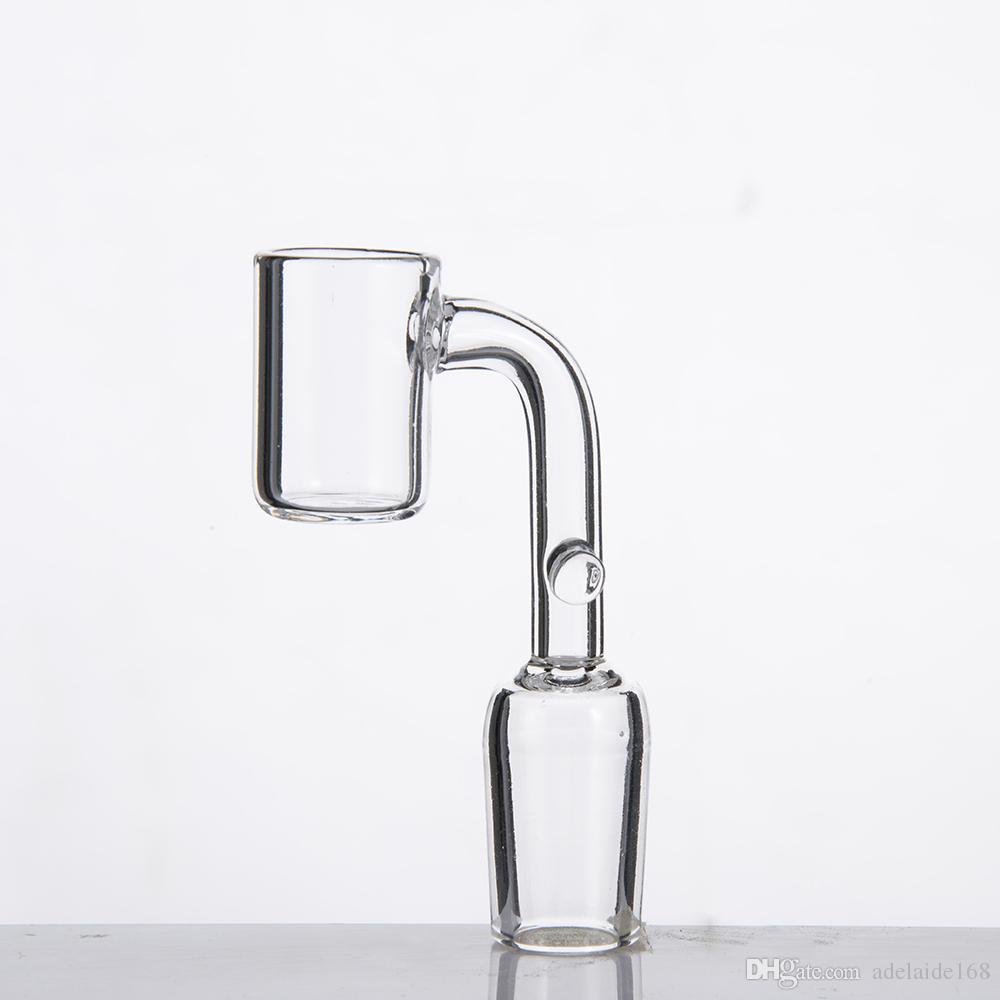 Quarz Enail mit Haken OD: 19.5mm Nägel 20mm Heizschlange Quave Verein 10mm 18mm 14mm männlich weiblich Glaspfeife Wasserrohr 224