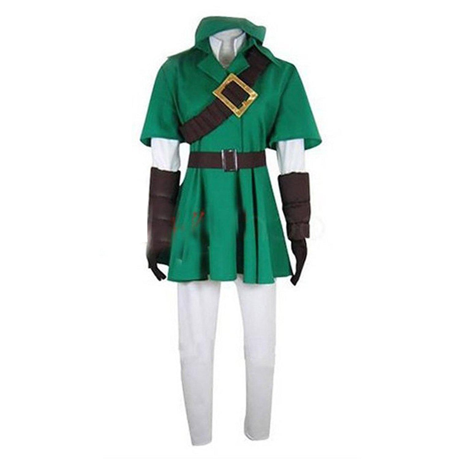 361db0b07 Kukucos Anime The Legend Of Zelda Link Cosplay Costume Halloween Party Dress  Up Suit Best Team Costumes Halloween Costumes For Office Group From  Kukucos, ...