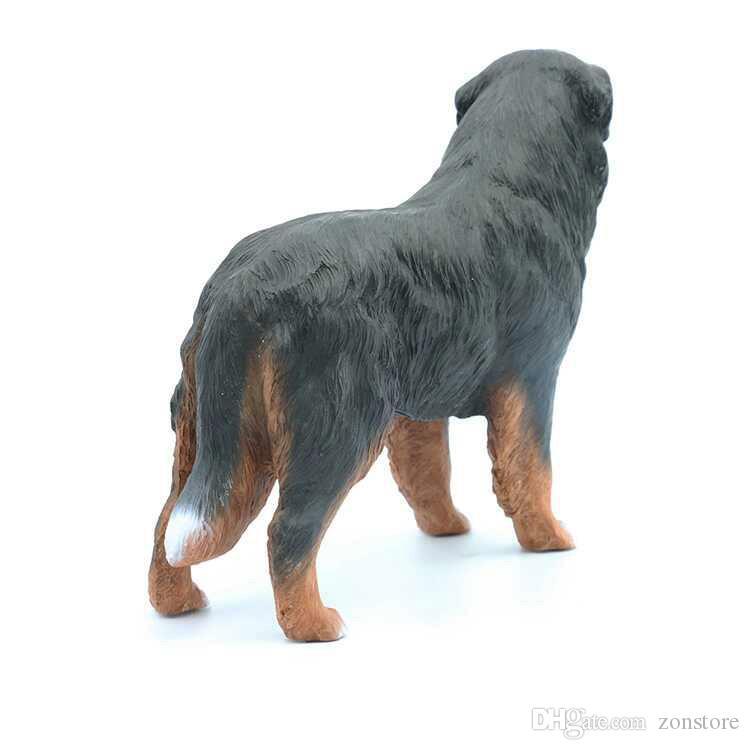 غاية الحياة مثل جرو عالية الجودة الحرف اليدوية بيرن جبل الكلب التمثال - كبيرة الدائمة جرو 7.4 بوصة
