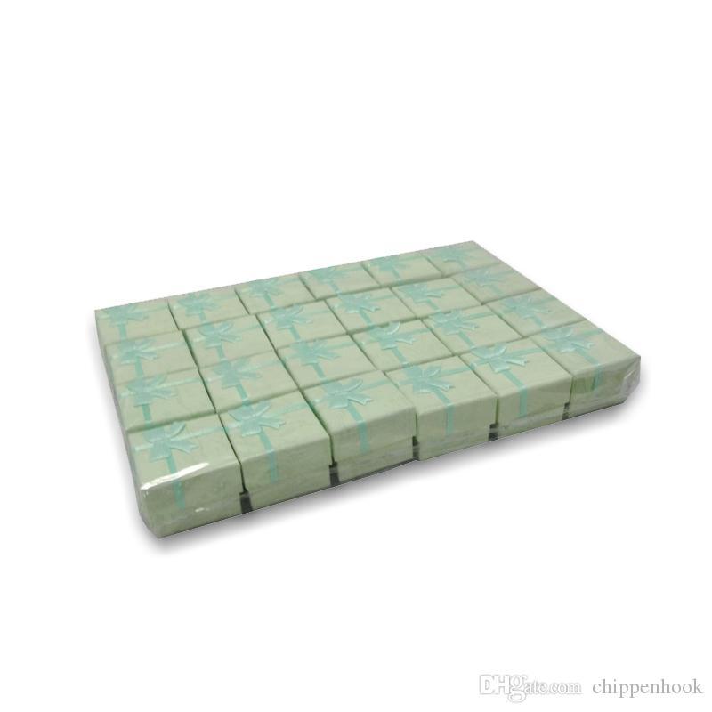 Livraison Gratuite / Multi couleurs Bague Stud Bijoux Stockage Boîte De Papier Boucle D'oreille Emballage Cadeau Boîte Pour Bijoux 4 * 4 * 3 cm