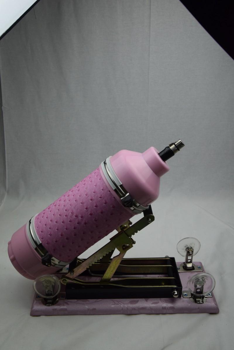 2017 Nowy zaktualizowany różowy silnik automatyczny z dildo, maszyna kulminacyjna, maszyna miłosna, prędkość ruchu: 0 - 415 razy / minuta