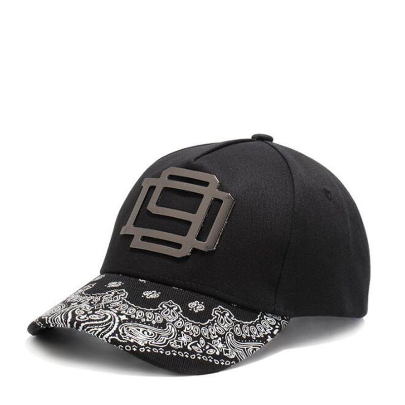 Yüksek kaliteli Beyzbol Şapkası Kaju çiçekleri desen Unisex Spor eğlence şapkalar erkekler ve kadınlar için yaprak nakış spor kap hip hop şapkalar