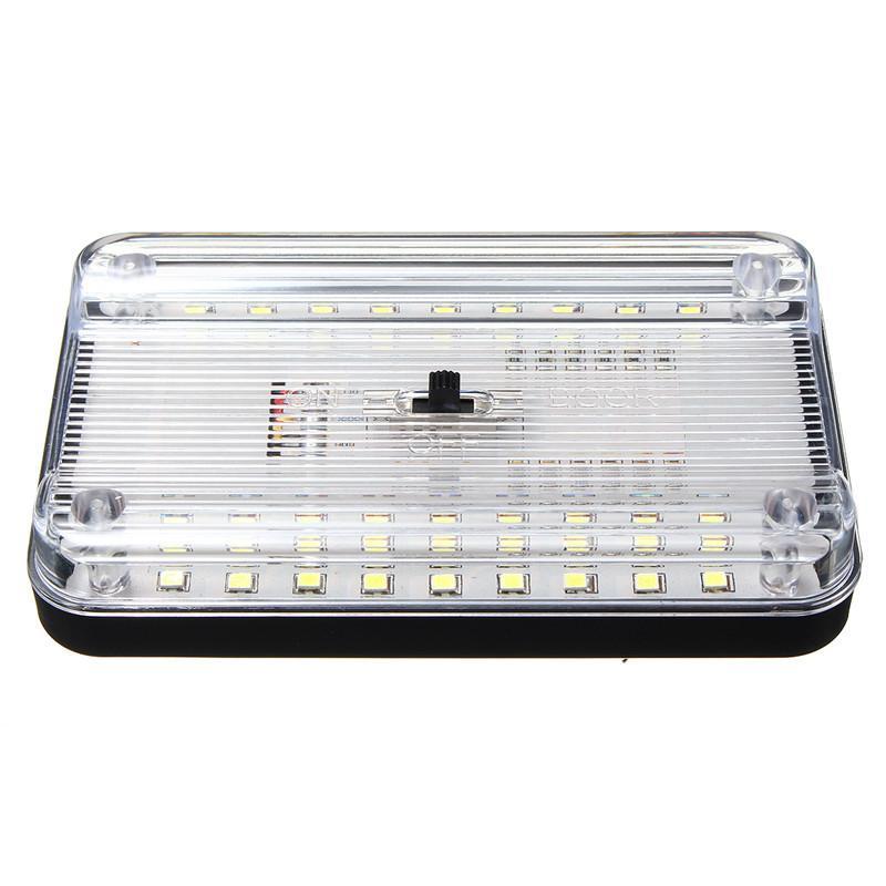 Evrensel 12 V 36 LED Araç Kamyon Oto Van Araç Tavan Dome Kapalı Çatı İç Işık Lambası Beyaz Araba Styling