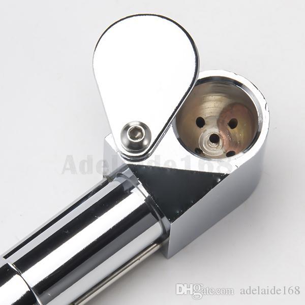 황동 프로토 파이프 흡연 파이프 재떨이 볼 연기 파이프 금속 휴대용 골든 은색 색상 도구 허브 중국 공장에서 직접 DHL 033