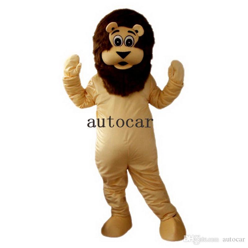 Prodotti su ordinazione della mascotte del costume del personaggio dei cartoni animati del costume della mascotte del leone della mascotte su misura SPEDIZIONE GRATUITA