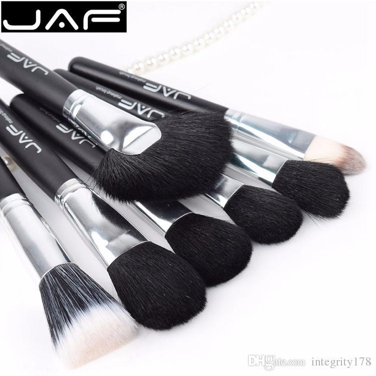 JAF / Set Brosses pour Maquillage cheval Cheveux Maquillage Brosse Ensemble professionnel Cosmétique Maquillage Brosse Outils Kits J20PY-B