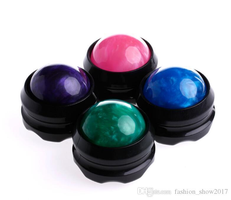 Massager manuel balle rouleau Secrets efficace de la douleur du corps de secours Relaxez soins de santé Massage Balles Roller