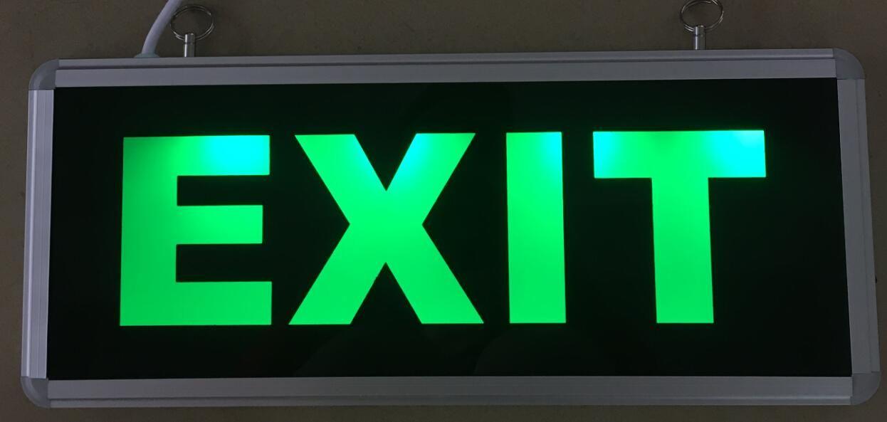 2018 Led Exit Board Led Sign Light Emergency Light Led