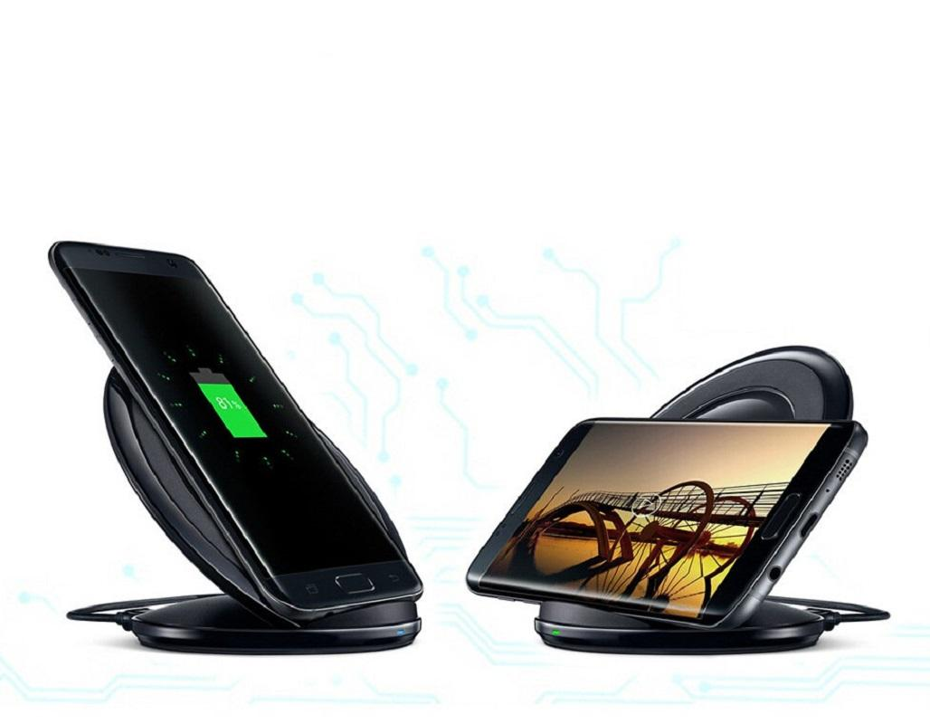 For Samsung Galaxy S7 Fast Charger Best Qualitly Wireless Stand for Samsung Galaxy S7 S8 edge S6 edge Plus QI Wireless Quick Charging Dock