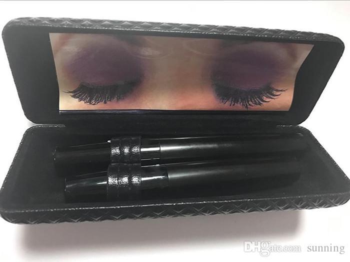 Heiße Marke 5223 5103 Version 3D Mascara Wasserdicht Doppel Mascara 3D FASER LASHES Set Make-up Wimpern = box DHL Schiff