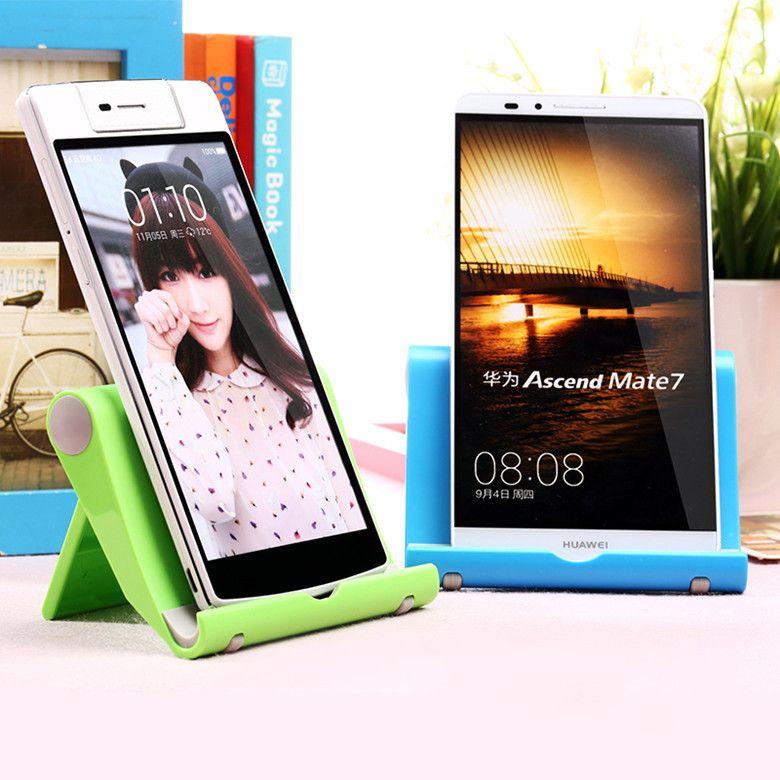 Multicolor desktop Universal Foldable stand holder mobile cell phone folding holder lazy stent for Tablet PC all smart phone