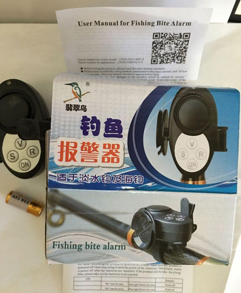 бесплатная dhl водонепроницаемый чувствительность цифровой рыбалка укус сигнализация регулируемый объем укус индикатор кольцевания на стержне для ловли карпа