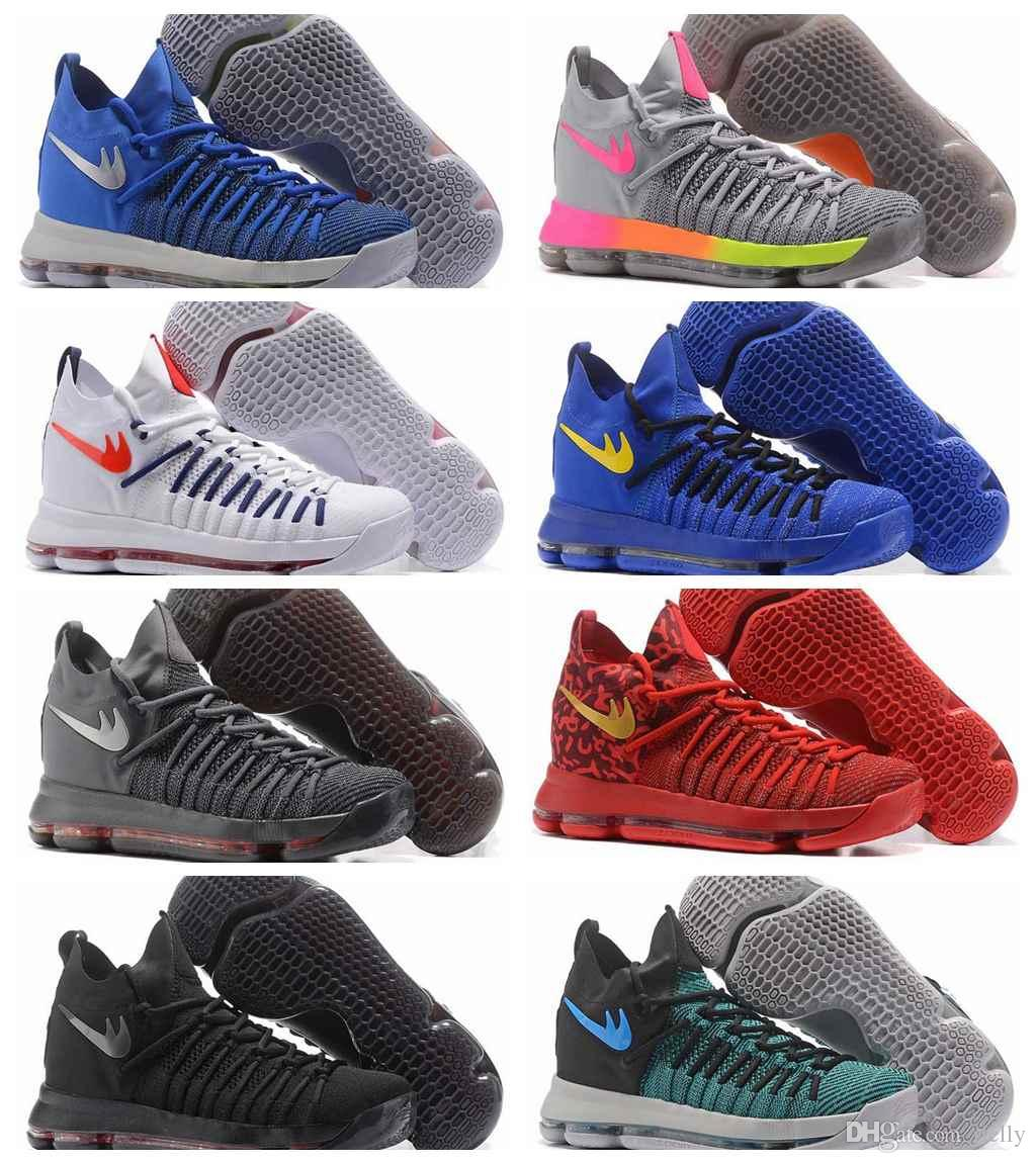 2017 New Kd 9 Ix Ep Elite Basketball Shoes For Men Kevin Durant 9s ...
