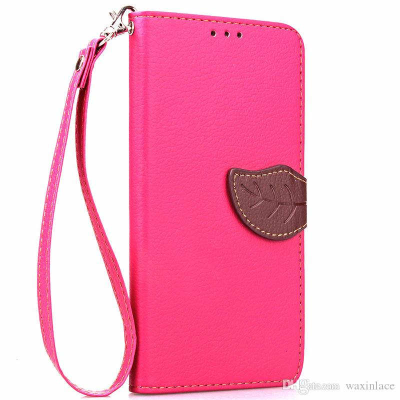 For Iphhone 6S case Brand New Original Leave Style Flip Wallet Leather Cell phone Case Cover For Iphone 6/6S 7/7S Plus