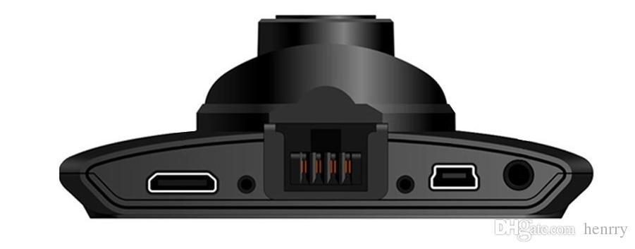 2,7-Zoll-HD-Anzeige Dashcam-Kamera Auto-DVR mit Novatek-Lösung PZ906 G30 Bewegungserkennung Ein Tastensperrzyklus Aufnahme G-Sensor IR