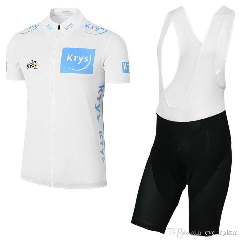 2017 Tour De France Cycling Jerseys Bib Kits Man Ropa Ciclismo Breathable Bike  Clothing Quick-Dry Bicycle Sportwear GEL Pad Bike Bib Shorts 2017 Cycling  ... e675eb644