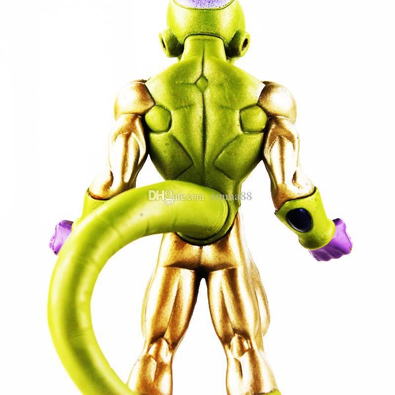 13cm Dragon Ball Frieza Goku Vegeta PVC Action Figure Collectable Model Toy for kids gift retail