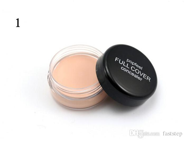 2018 New Makeup Face Popfeel Full Cover Concealer!5 Different Colors wholesale price DHL free shipping from faststep