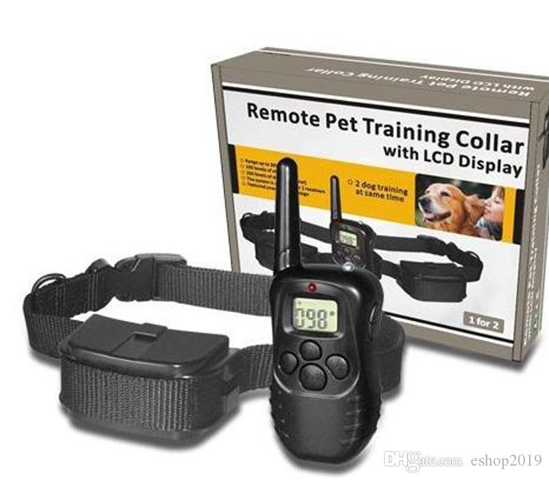 짖는 장치 제조 업체, 도매 애완 동물 용품 원격 제어 껍질 중지 짖는 제어 훈련 훈련 중지 개 훈련을 그만