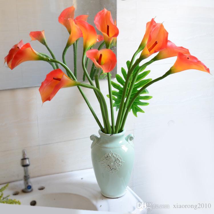 Calla Lily Real Touch Callas Lys artificiel Naturel Aspect Simulation Fleurs Simples Tiges Calla Lilies Mariage Christamas