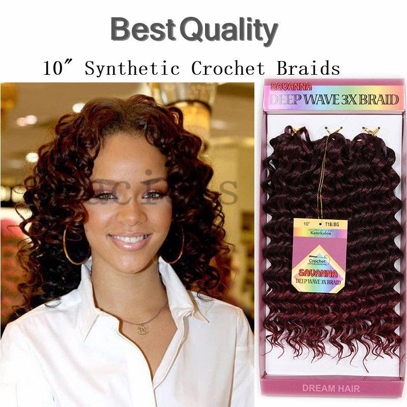 Großhandel Synthetische Lockige Rote Haare Extensions Häkeln Zöpfe