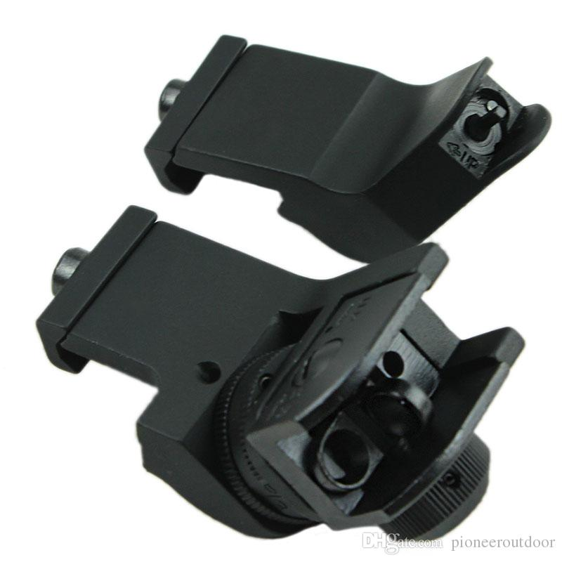 Offest 45 Degree Back Up Iron Sights A2 Style for Rapid Transition